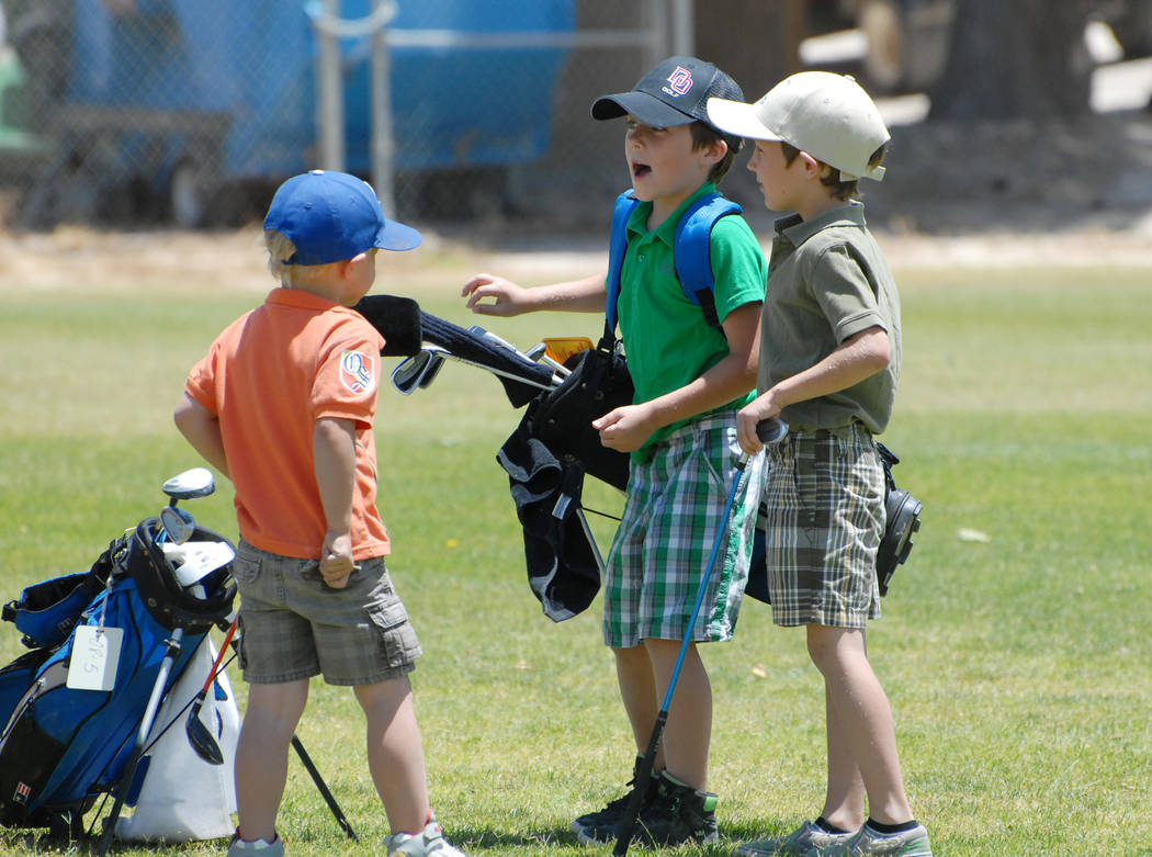 Horace Langford Jr./Pahrump Valley Times Mountain Falls Golf Course again will offer tournaments for young golfers this summer.