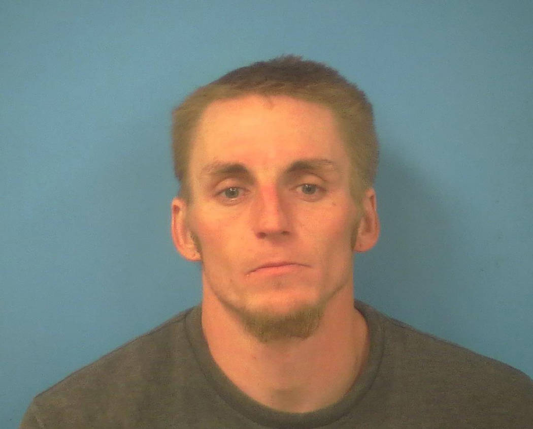 Special to the Pahrump Valley Times Pahrump resident Jeffrey McMahon, 29, was taken into custody on Wednesday May 16, at 5 a.m. Deputies were able to locate McMahon not long after making his ident ...