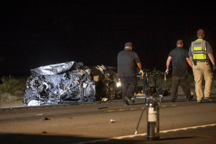 Top Five Us 95 Accident Nevada - Circus