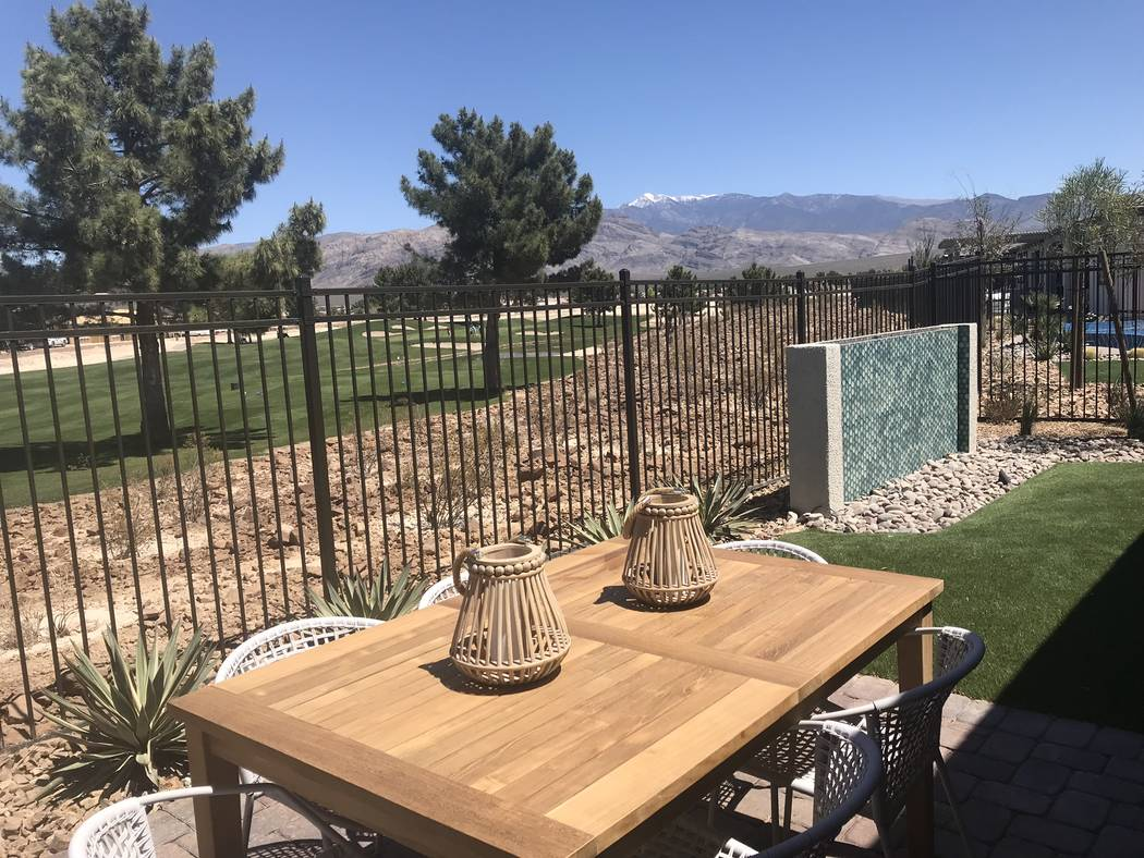 Jeffrey Meehan/Pahrump Valley Times William Lyon Homes has completed nine model homes in its 55 plus development Ovation. The first phase is pegged to come online in June with prices starting at $ ...