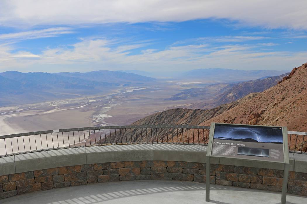 After four months of renovations, Dantes View at Death Valley National Park in California has reopened. (National Park Service)