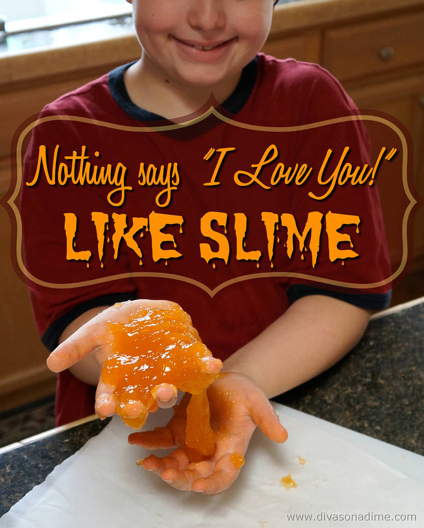 Patti Diamond/Special to the Pahrump Valley Times This easy recipe makes translucent oozy, gooey edible slime that will entertain your kids for hours, columnist Patti Diamond writes.