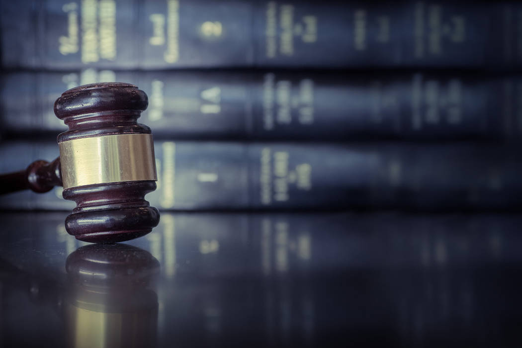 Thinkstock The sentencing hearing for the defendant is scheduled for Dec. 3 in the Eighth Judicial District Court, the Nevada Attorney General's Office said in an announcement this week.