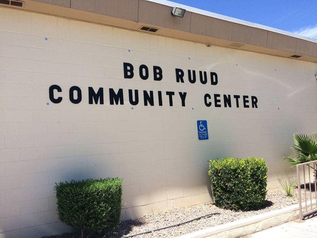 Robin Hebrock/Pahrump Valley Times Most Nye County voters will cast their votes in the 2018 Primary Election at the Bob Ruud Community Center in Pahrump.