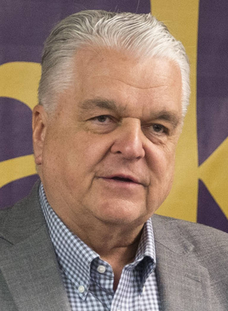 Las Vegas Review-Journal Steve Sisolak is a Clark County commissioner who was competing for the Democratic nomination for governor on Tuesday.