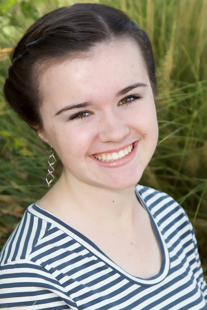 Special to the Pahrump Valley Times McKenna Abbiss, 15, is a sophomore at Pahrump Valley High School. The future chef or artist chooses badminton and participating in the school's Key Club and y ...