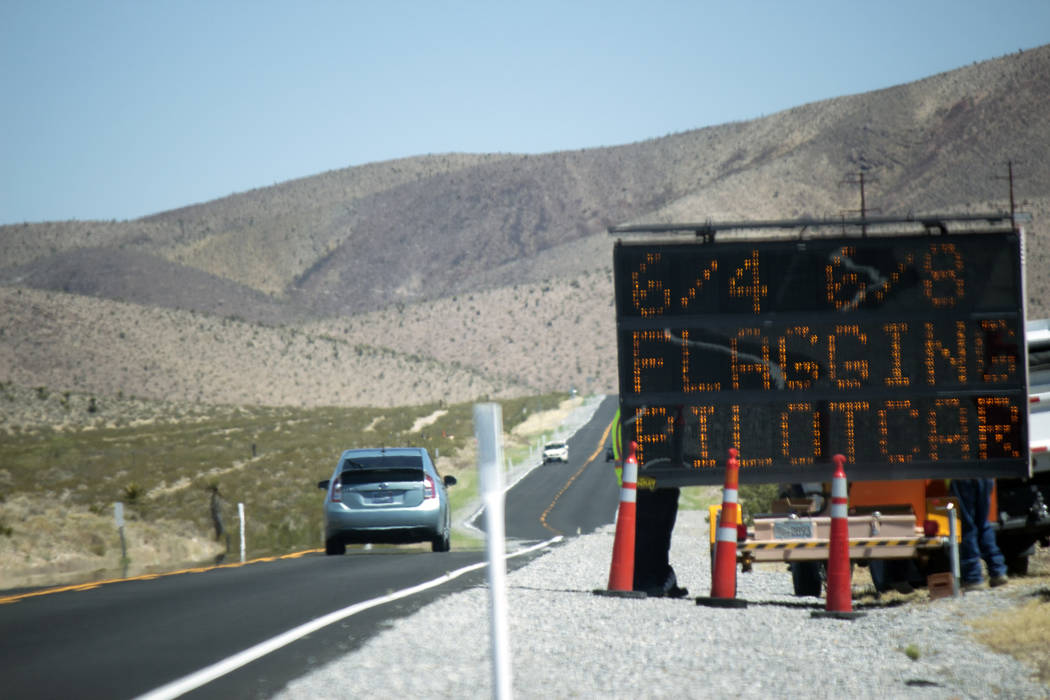 Jeffrey Meehan/Pahrump Valley Times The Nevada Department of Transportation is holding a community workshop to gain insight on rural transit services and needs at the NyE Communities Coalition bui ...