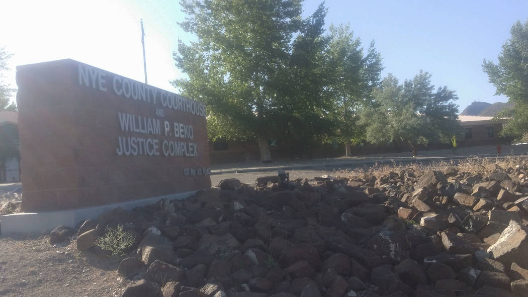 David Jacobs/Pahrump Valley Times A photo of the Nye County government building off Radar Road in Tonopah as shown in a 2016 photo. A vacancy since February created a huge strain on the district a ...
