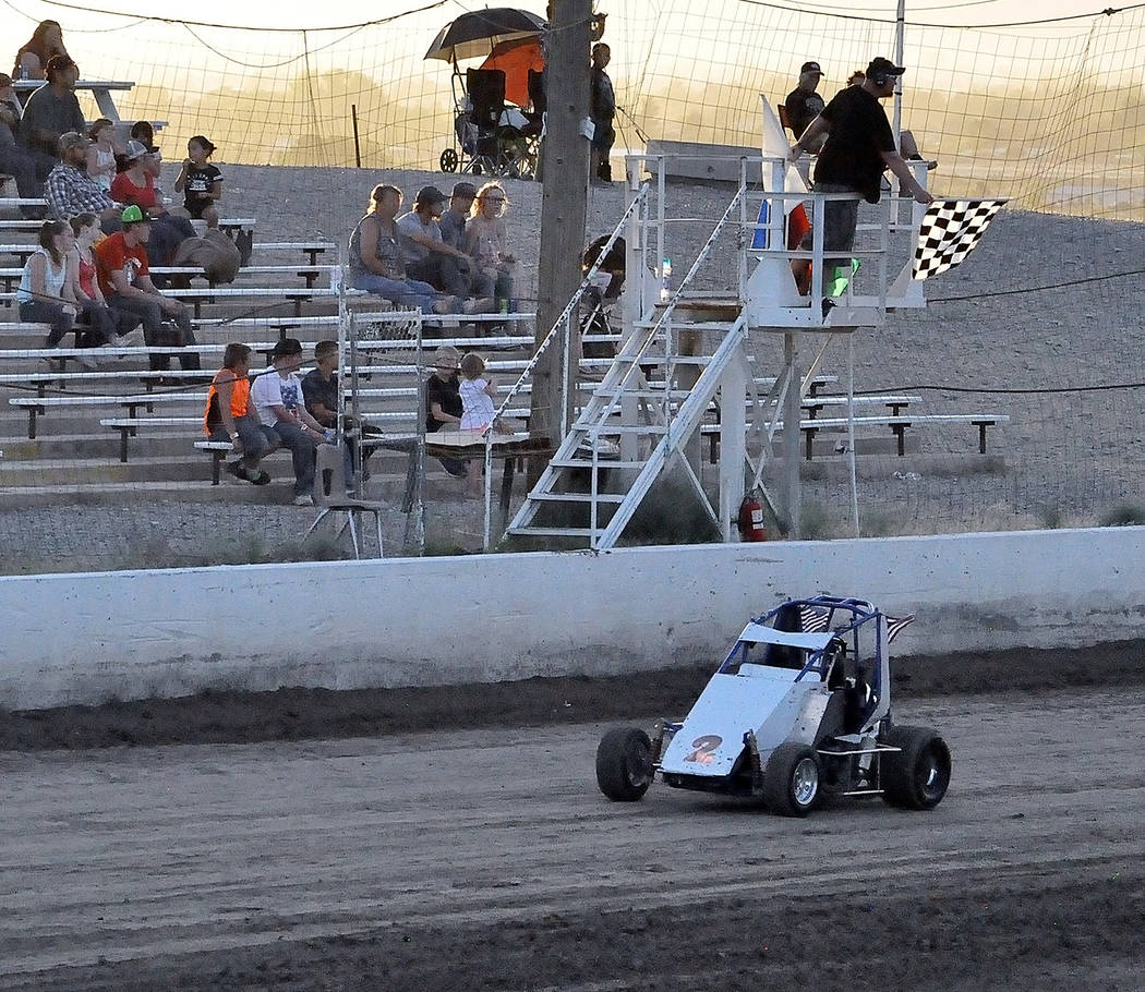 Horace Langford Jr./Pahrump Valley Times Racing season continues at 7 p.m. Saturday on the quarter-mile dirt track at Pahrump Valley Speedway. Gates open at 6 p.m.