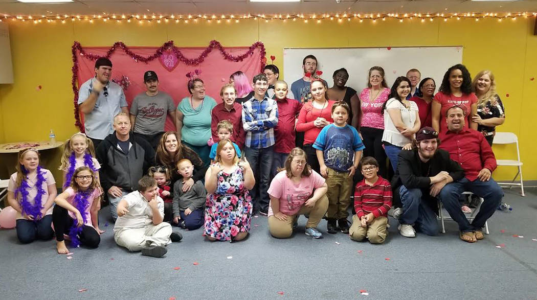 Special to the Pahrump Valley Times The photo shows just some of the many valley residents whose lives have been touched by the Pahrump Disability Outreach Program.