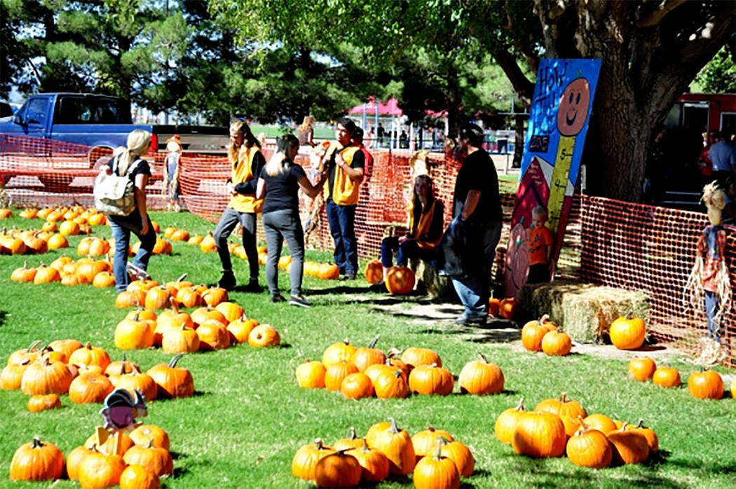 Selwyn Harris/Pahrump Valley Times PDOP officials said there will be numerous activities for people of all ages during the three-day 'Pumpkin Days' event. Today marks the 8th annual fall cele ...