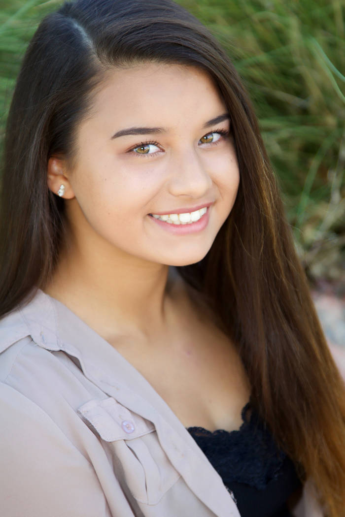 Special to the Pahrump Valley Times 2018 Miss Pahrump Pageant winner Romilyn Carreon, 16, plans to become a realtor later in life. The Pahrump Valley High School junior's hobbies are reading, gy ...