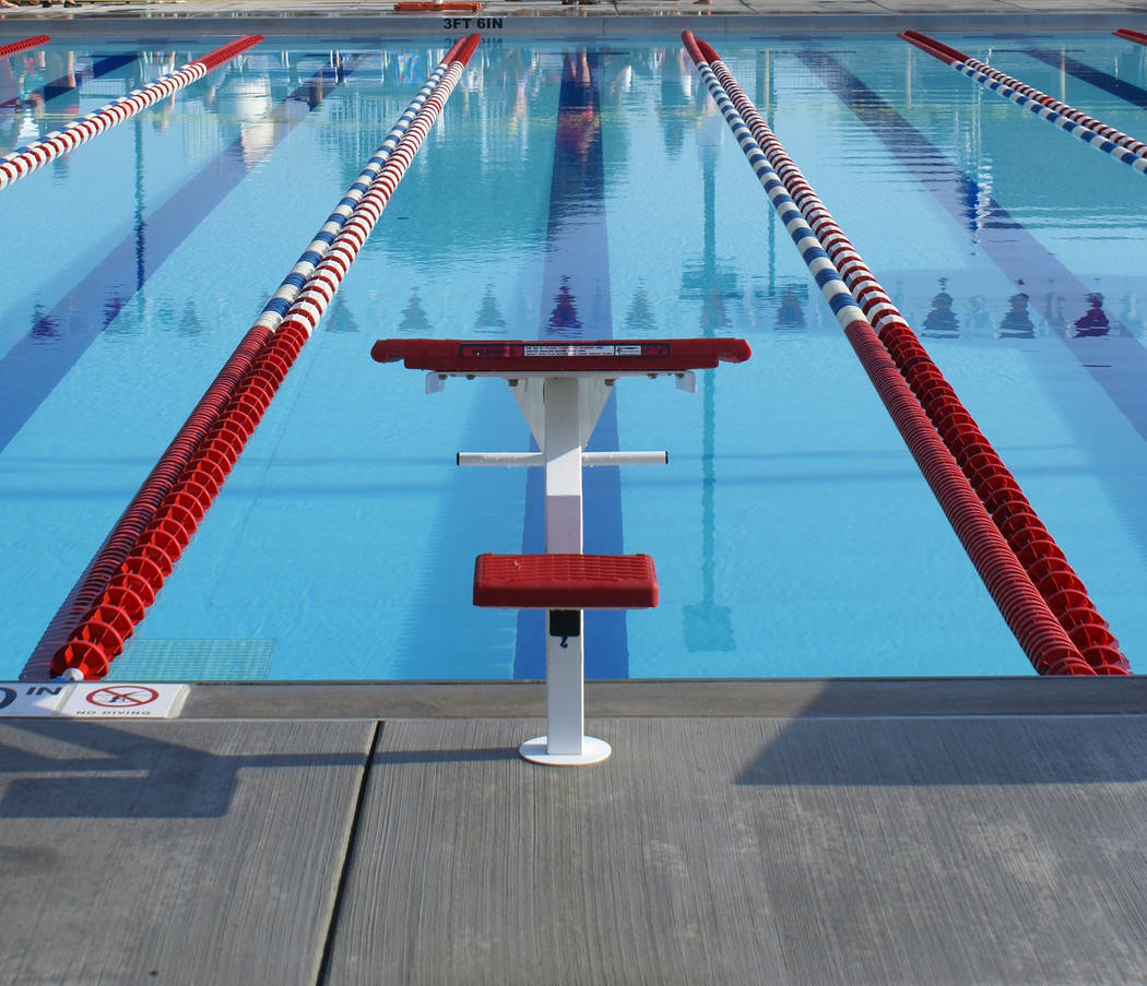 Thinkstock Amy Van Dyken-Rouen, a six-time gold medalist, made her way through Pahrump in the spring of 2018. Van Dyken-Rouen was inducted into the International Swimming Hall of Fame in 2007 and ...