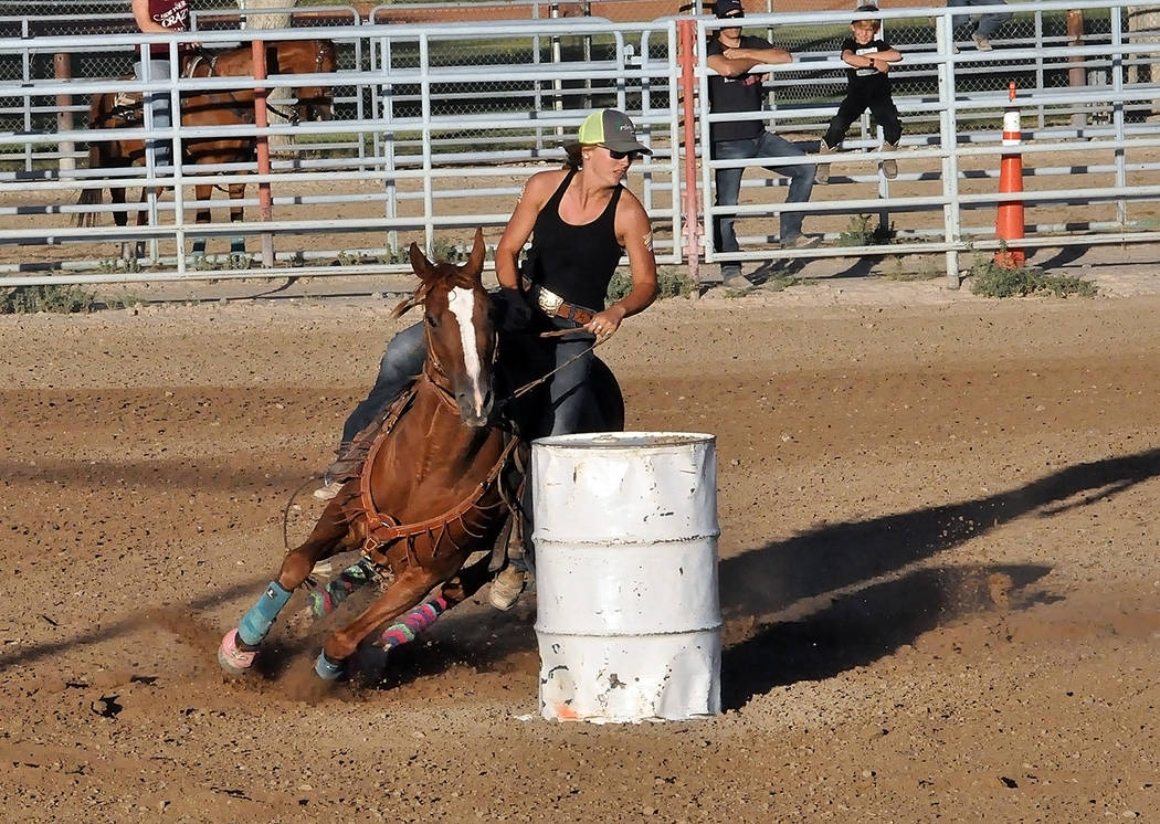 Horace Langford Jr./Pahrump Valley Times The Pahrump Valley Rough Riders will hold their next monthly show July 21 at McCullough Arena in Pahrump.