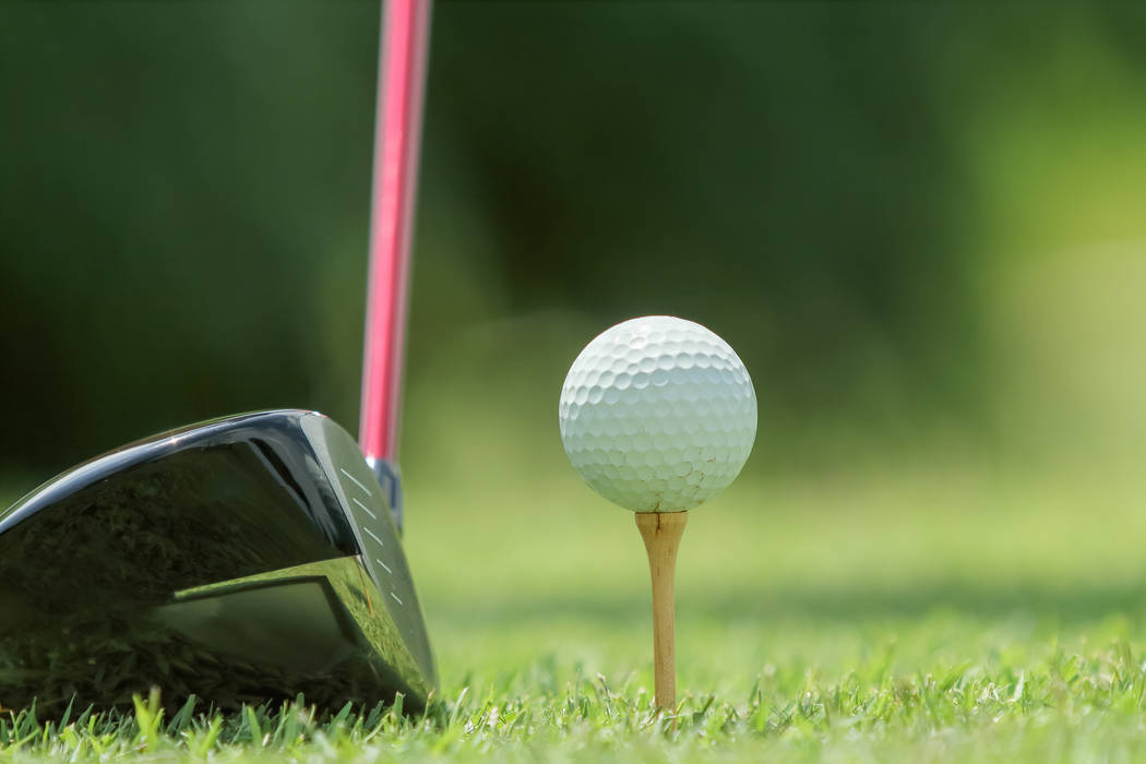 Thinkstock Bob Michael made a hole-in-one June 26 at Lakeview Executive Golf Course in Pahrump.