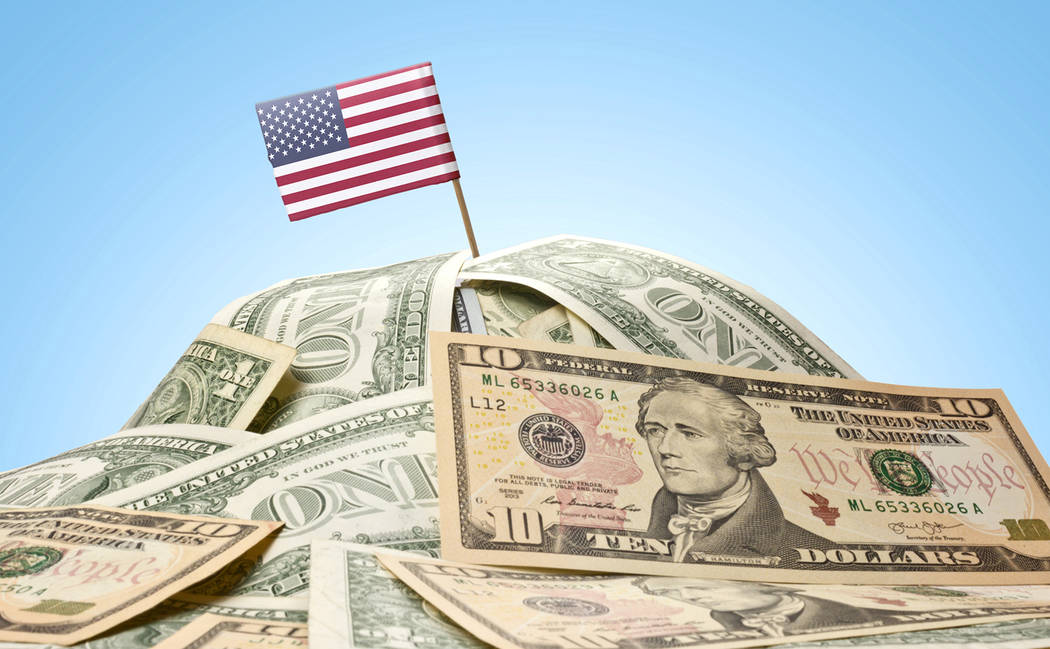 Thinkstock Nobody realistically expects the U.S. government's existing debt to ever be paid off, columnist Thomas Knapp writes.