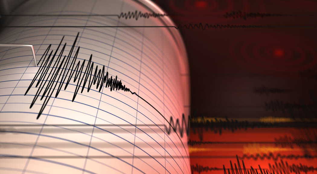 Thinkstock A 4.5-magnitude earthquake was reported about 9 miles northwest of Sandy Valley, southeast of Pahrump, about 8:15 a.m. Thursday, July 5, 2018.