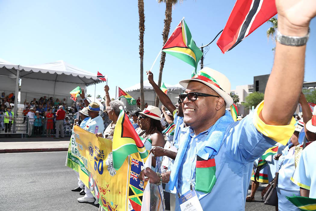 Special to the Pahrump Valley Times Nations from all across the planet came together in a showing of unity during the Lions International Parade of Nations, demonstrating their belief in the need ...