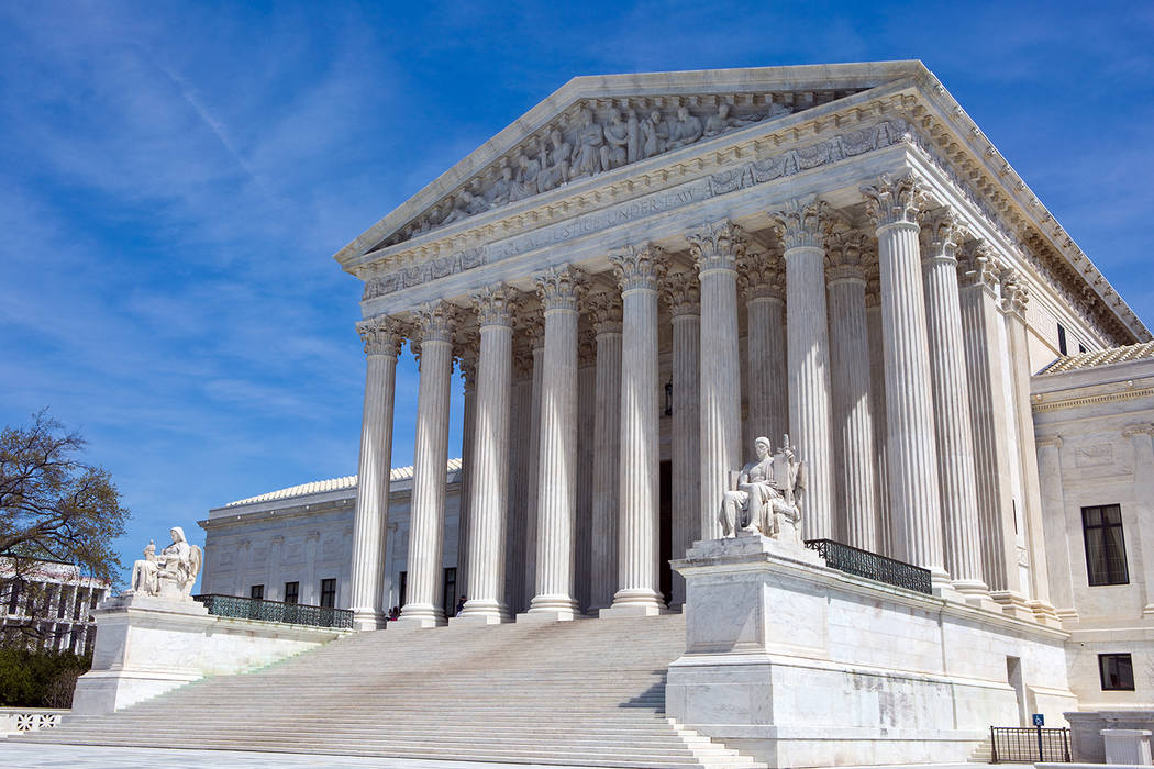Thinkstock The United States Supreme Court building is in Washington, D.C.
