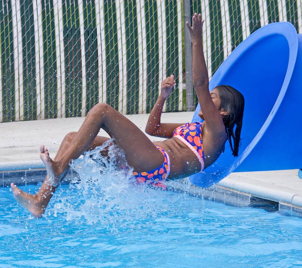 Richard Stephens/Special to the Pahrump Valley Times Pool hours are noon to 6:30 p.m. Monday through Saturday, and noon to 5:00 p.m. on Sunday.