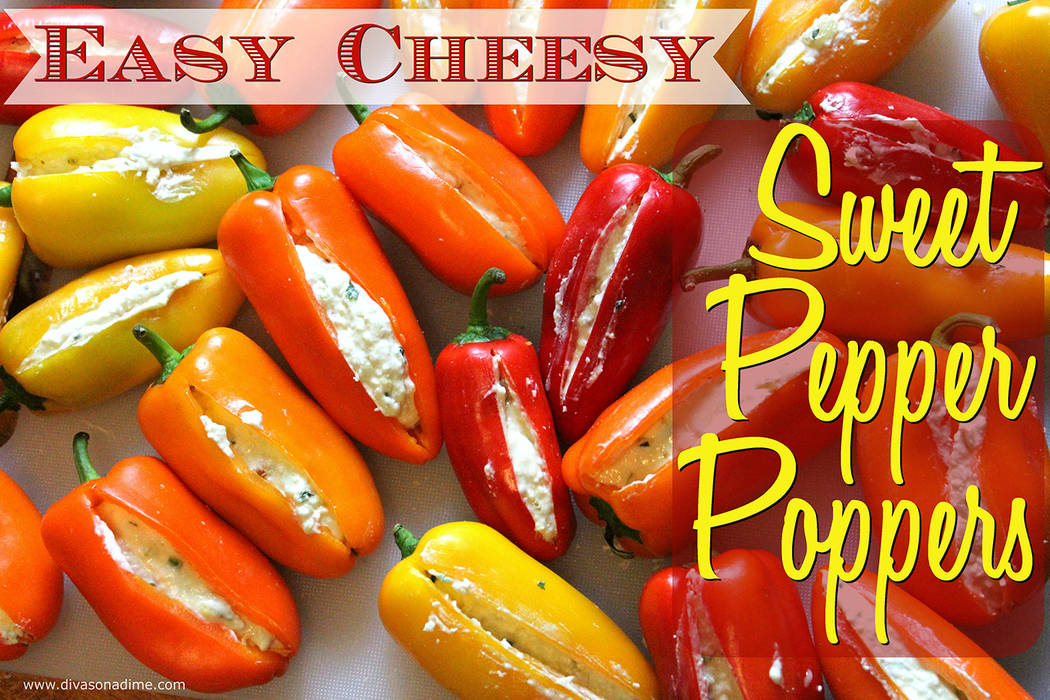 Patti Diamond/Special to the Pahrump Valley Times These peppers are so versatile, so sweet, colorful and cute, they're begging to be stuffed with delicious things says our columnist.