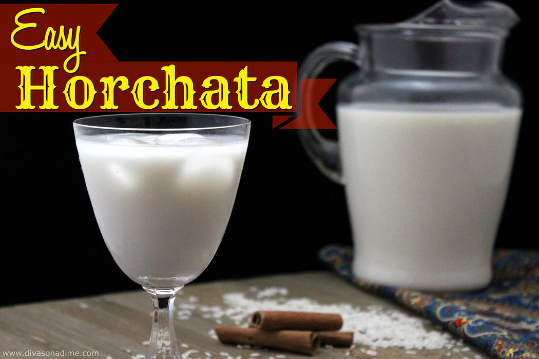 Patti Diamond/Special to the Pahrump Valley Times Horchata is a cool and refreshing beverage, it's silky and luscious, making it a perfect companion on a hot summer day.