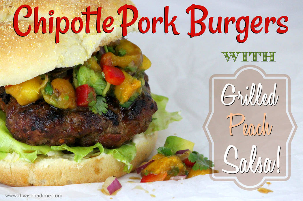 Patti Diamond/Special to the Pahrump Valley Times For a twist on the average burger, how about switching up the meat? Juicy and delicious, pork is often less expensive than beef.