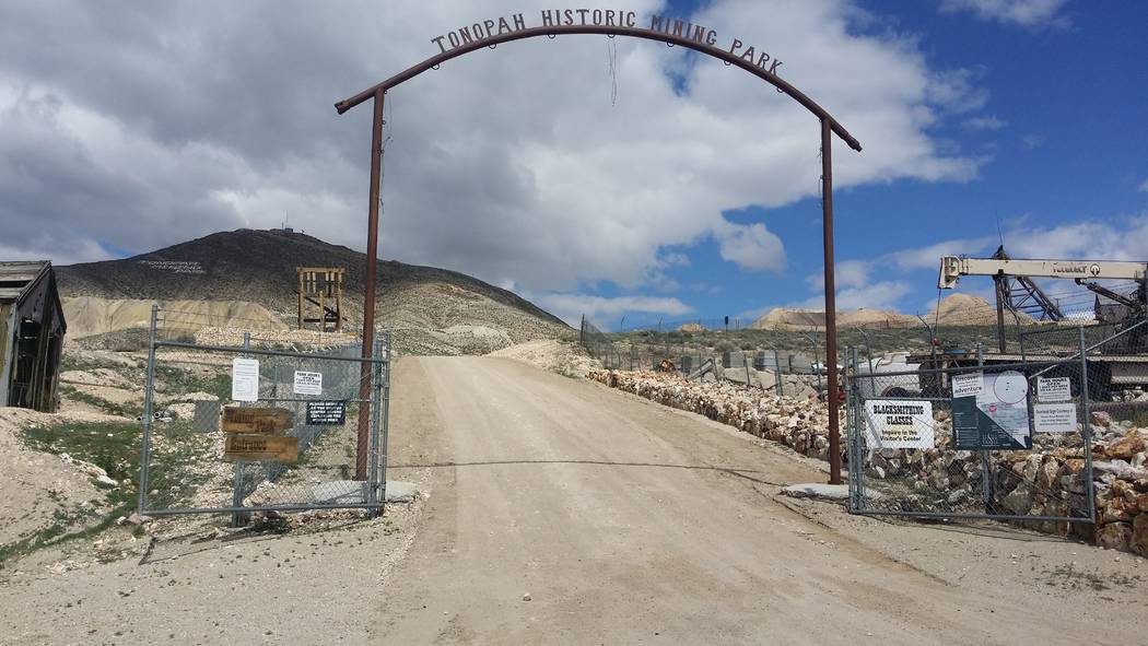 David Jacobs/Pahrump Valley Times The Tonopah Historic Mining Park as shown in a file photo.