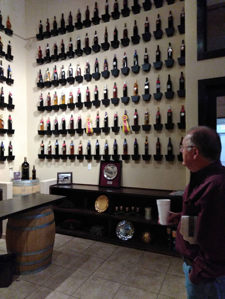 Selwyn Harris/Pahrump Valley Times At present, the Pahrump Valley Winery, now in its 16th year, has won roughly 120 national wine awards for Nevada wines, as well as, close to 500 national awards. ...