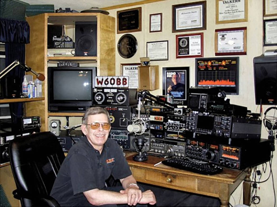 "Special to the Pahrump Valley Times Art Bell Bell was known as the late-night host, engineer and producer of the show ""Coast to Coast AM."" Bell died on Friday, April, 13."