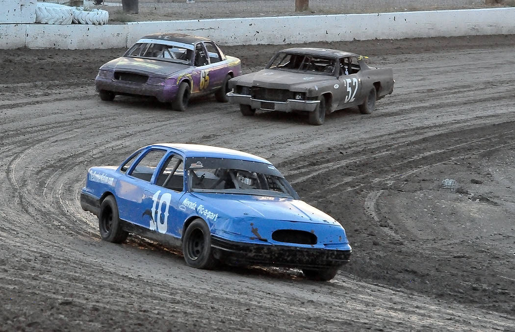 Horace Langford Jr./Pahrump Valley Times While the Bomber class at Pahrump Valley Speedway has belonged to Gary Watt, Arlie Daniel in car No. 10 has been a consistently strong second and sits just ...