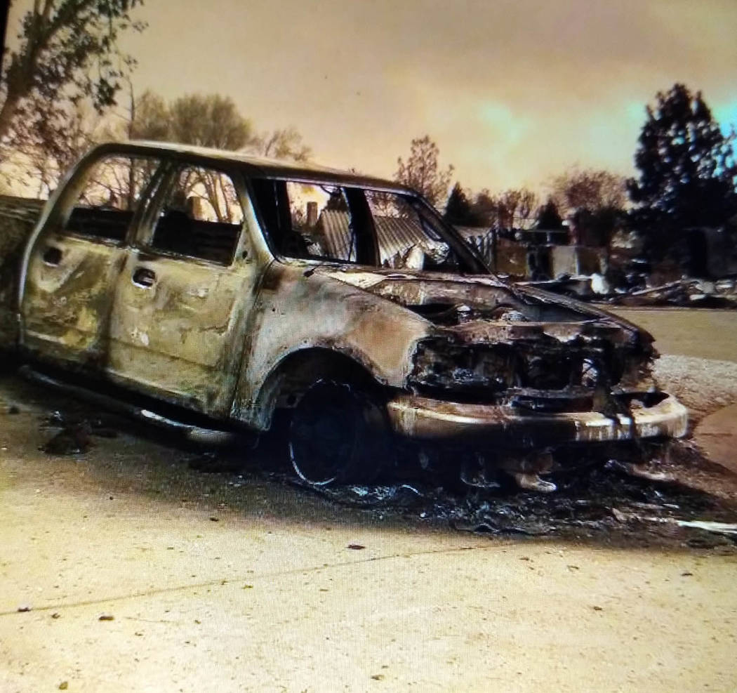 Special to the Pahrump Valley Times The Carr fire, which claimed its seventh victim on Saturday August 4, grew to nearly 10,000 acres over the past weekend, and has so far charred more than 163,20 ...
