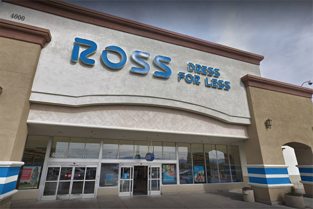Ross Dress For Less store on Blue Diamond Road in Las Vegas (screengrab from Google)