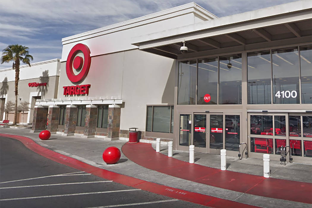 Target store on Blue Diamond Road in Las Vegas (screengrab from Google)