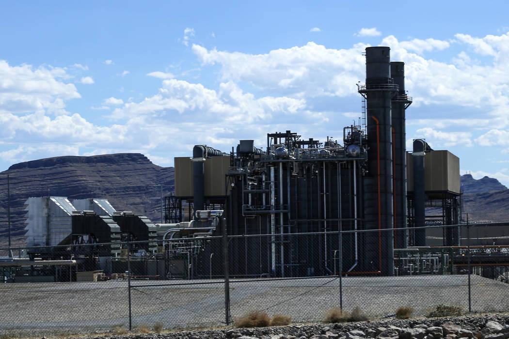 NV Energy's Silverhawk Generating Station in Moapa, Tuesday, Sept. 12, 2017. Joel Angel Juarez Las Vegas Review-Journal @jajuarezphoto