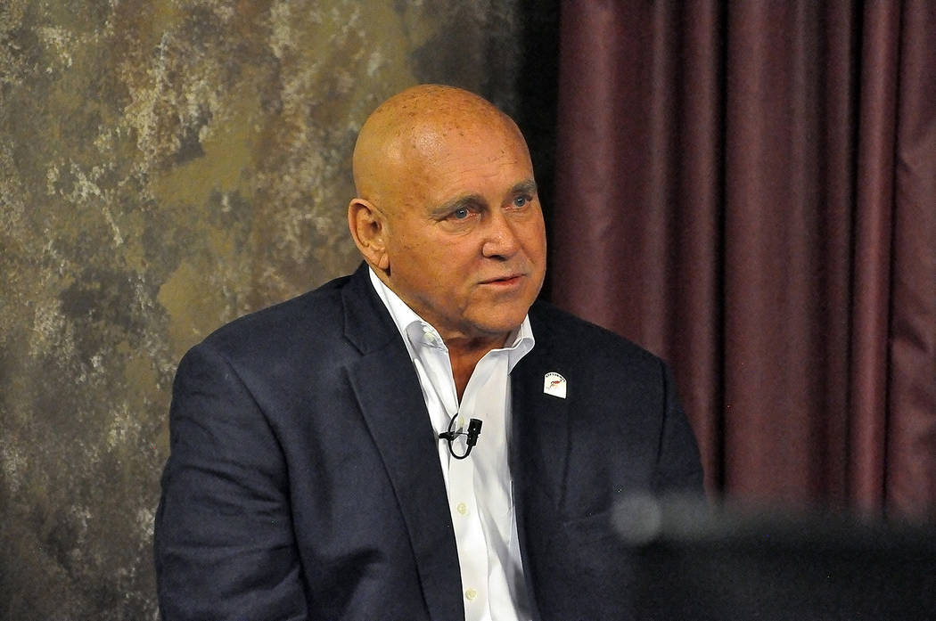 Horace Langford Jr./Pahrump Valley Times At the heart of the lawsuit is the county's decision not to renew Dennis Hof's brothel and liquor licenses and the subsequent closure of Hof's Love ...