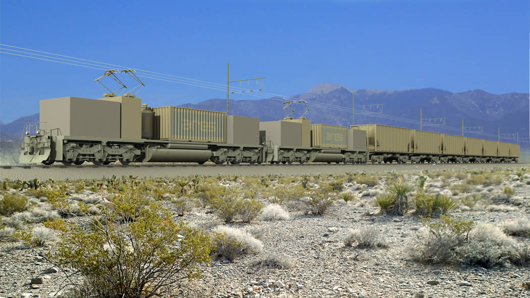 ARES Nevada plans to construct a 50-megawatt rail energy storage project that will cover 106 acres of public land near Pahrump, within the Carpenter Canyon area. The addition of the project will h ...