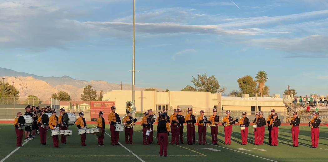 Tom Rysinski/Pahrump Valley Times At least 34 members of Pahrump Valley High School's marching band was invited to perform at the annual Pearl Harbor Memorial Parade come December. The total cos ...