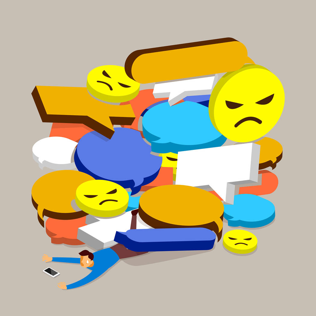 Thinkstock Negative comments clutter much of today's social media streams.