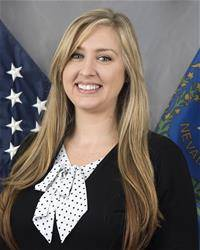 Special to the Pahrump Valley Times Although the decision is not yet final, Nye County is considering administrative manager Samantha Tackett for head of the new county privileged business license ...
