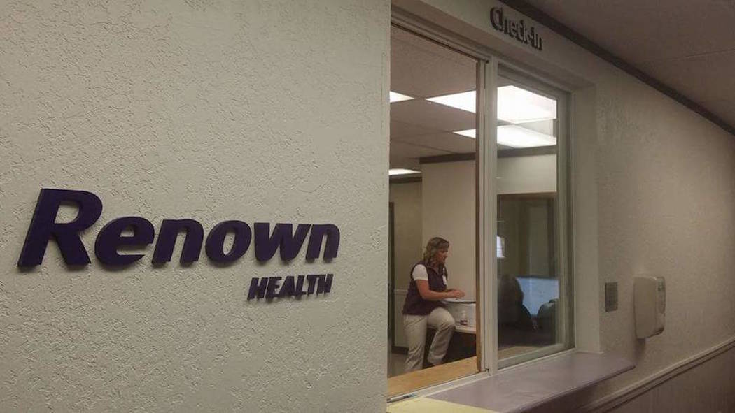 David Jacobs/Pahrump Valley Times The Renown medical office in Tonopah as shown in a photo in 2016.