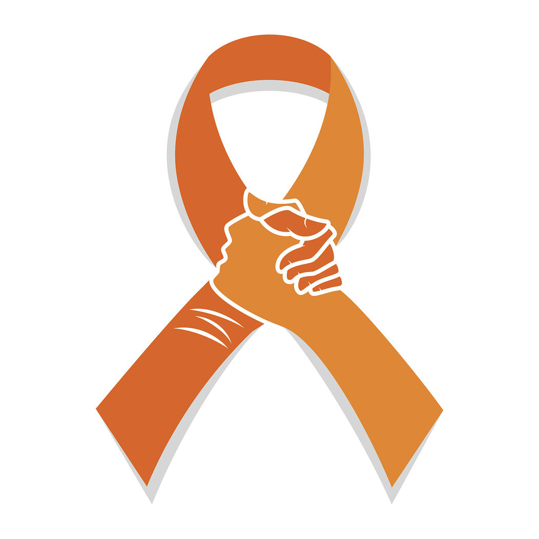 Thinkstock A Self-injury orange awareness ribbon, used as a method of raising awareness about suicide and demonstrating the need for connection when struggling with suicidal thoughts or actions.