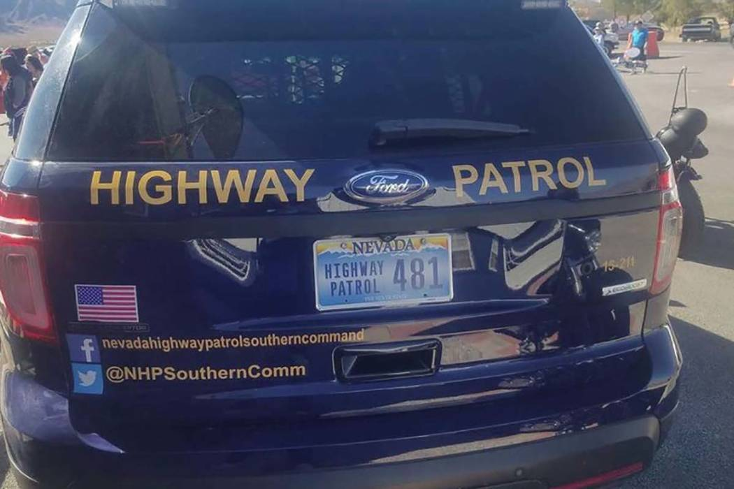 Nevada Highway Patrol The wreck occurred Sept. 8 on Pahrump's East Kellog Road, near Squaw Valley Road.