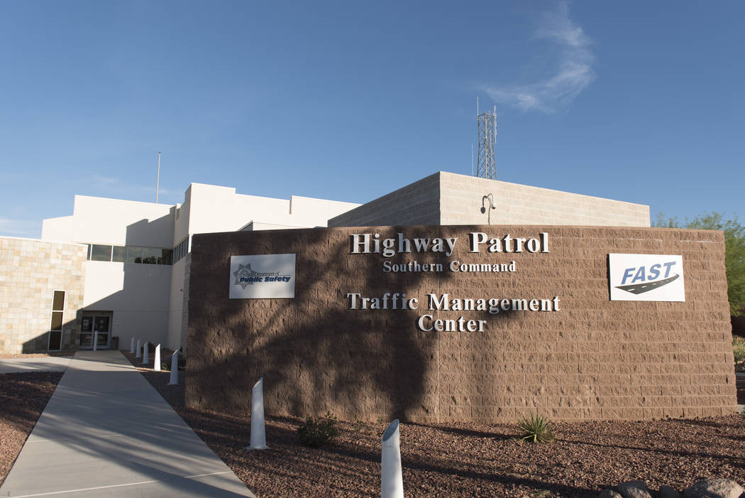 Jason Ogulnik/Las Vegas Review-Journal Officers perform a variety of law enforcement and public safety functions within the Nevada Department of Public Safety.