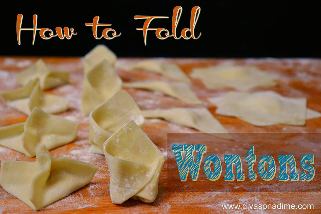 Patti Diamond/Special to the Pahrump Valley Times Wonton wrappers are so versatile and fun to play with and you can make fancy-pants appetizers or first course for a crowd.