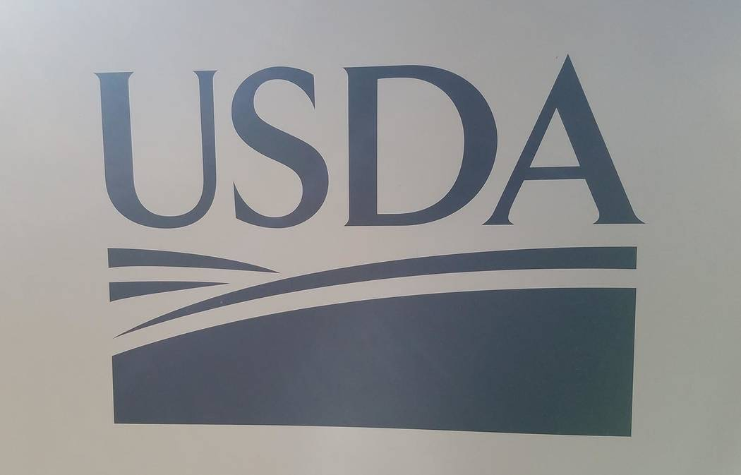 David Jacobs/Pahrump Valley Times USDA is supporting investments in 120 infrastructure projects through the Water and Waste Disposal Loan and Grant program.