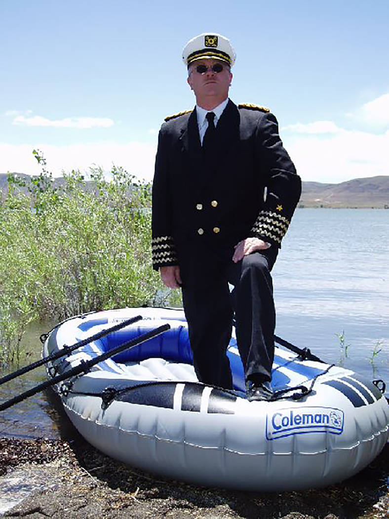 Special to the Pahrump Valley Times His Excellency, President Baugh, who is also Admiral of the Molossian Navy said his goal is to explore watery places that dot the western landscape like gems in ...