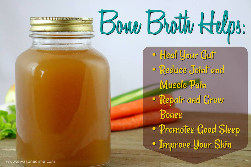 Patti Diamond/Special to the Pahrump valley Times Bone broth is one of the most delicious, versatile and cheapest health foods that you can make at home, columnist Patti Diamond writes.