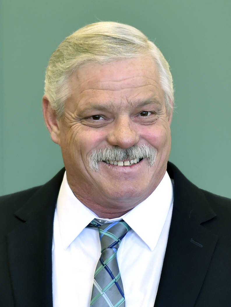 David Becker/Valley Electric Association Kenneth Derschan, Valley Electric Association's president of the board of directors, announced on Friday that a new CEO was named for the co-op. Days la ...