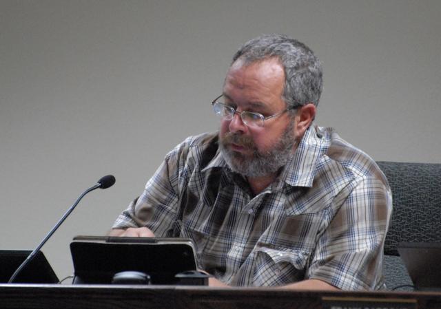 Horace Langford Jr. / Pahrump Valley Times Nye County Commissioner Dan Schinhofen